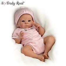 "Ashton Drake Tasha Edenholm ""Little Peanut"" Lifelike Poseable Baby Doll NEW NIB"