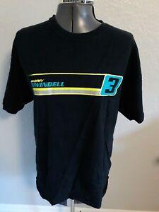 RARE Sammy Swindell #3 Sprint Car Black Acme Graphix T Shirt Sz Lg World Outlaws