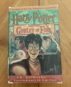 Harry Potter And The Goblet Of Fire Cassette Tapes audiobook