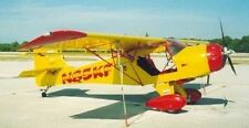 Kitfox Speedster Denney Light USA Airplane Desk Wood Model Big New
