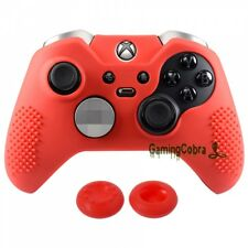 Red Protective Rubber Case Skin Analog Stick Cover for Xbox One Elite Controller