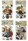 Beautiful 5d Home Decor Flower Stickers - Pack Of 2
