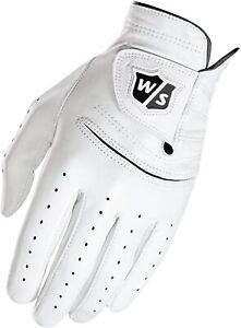 Wilson Staff Golf 2019 FG Tour Pure Feel 2 Gloves Mens XL Cadet Worn Left Hand