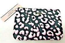 New! Victoria's Secret MINI Animal Print Coin Cosmetic Make Up Case Beauty Bag
