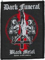 Official Licensed Merch Woven Sew-on PATCH Heavy Metal DARK FUNERAL Black Metal