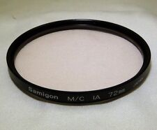 Samigon Skylight 1A Multi-Coated  72mm Filter Japan   - free Shipping Worldwide