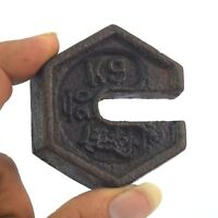 Rare Vintage Cast Iron Mercantile Tool Platform Scale hanging Weight. G15-244 US