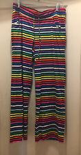 Victoria's Secret Multicolored Striped Pajama Bottoms Size M