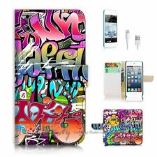 ( For iPod 6 / itouch 6 ) Flip Case Cover! P1482 Graffiti