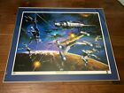 Babylon 5 - War Without End Framed Lithograph 40x33 Signed by 15 Show Stars!