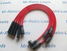 RED 8.5 mm Performance Ignizione contatti preselezionati per Peugeot 205 309 1.9 SRI GTI Qualità HT