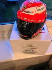 1/2 Scale Helmet signed Kimi Raikkonen Ferrari Formula 1