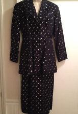 RARE FIND Haute Couture HELMUT Max Dietl Munchen Amarotico DISCO BALL Skirt Suit