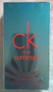 """CALVIN KLEIN """"CK One Summer"""", Edt 100ml, NEUF"""