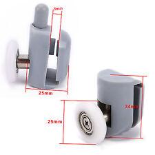 8 pcs Cuscinetto Rullo Ruota da Porta scorrevole per Box Doccia Bagno 25mm