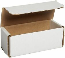 50 6 X 2 12 X 2 38 Small White Cardboard Carton Mailer Mailing Shipping Boxes