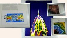 1981 USPS Special Mint Folder First Day Issue Stamps Man's Achievements in Space