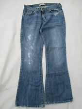 Fossil Women's Denim Jeans 8R Vintage 92638 Distressed