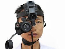 Gen1eXact BE-55 1X24 Night Vision IR Goggle Monocular+Hand Free Head Mount Kit