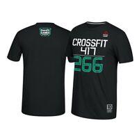 Reebok 2016 CrossFit Games 417 #266 Men's Black T-Shirt