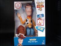 Disney Pixar Toy Story 4 Sheriff Woody Talking Action Figure - 16 Inch 64113
