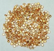 1.75mm 2 Stones Nigerian Gold Spessartite Garnet Round Accent Stone