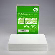 HP 4x6 Matte Inkjet Photo Paper Vivid white CG465A 120 Sheets FREE SHIPPING