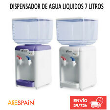 DISPENSADOR DE AGUA LIQUIDOS 7 LITROS CON 2 GRIFOS FRIO Y DEL TIEMPO 7L AQUA
