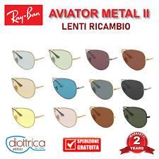 Lenti ricambio Ray Ban AVIATOR METAL II RB3689  POLARIZZATE FOTOCROMATICHE