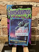 Ultimate Goosebumps VHS - One Day at Horrorland Parts 1 & 2 - GREAT Condition