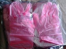 5 pairs pip technical anti-static xl xlarge vinyl gloves class 1.5m compatible