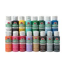 2oz Apple Barrel Acrylic Paints Set (MULTI SURFACE SATIN) **Assorted Colors**