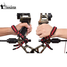 Bow Wrist Sling For Hunting Shooting Red Nylon Outdoor Archery Accessories