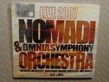 NOMADI & OMNIA SYMPHONY ORCHESTRA -  LIVE 2007  - 2 CD+ DVD  DIGIPACK  SIGILLATO