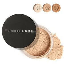 3Colors Makeup Face Loose Finishing Powder Translucent Smooth Setting Foundation