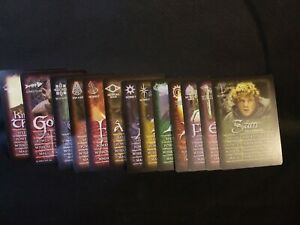13 Character Cards Lord of the Rings Return of the King Delux Board Game RoseArt