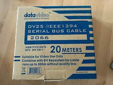 More details for datavideo 20m dv / ieee1394 firewire serial bus cable 2066