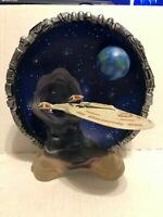 1998 Hamilton Collection 3D Star Trek First Contact USS Enterprise NCC-1701-E