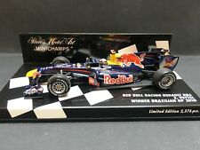 Minichamps - Sebastian Vettel - Red Bull - RB6 - 2010 -1:43 - Brazilian GP