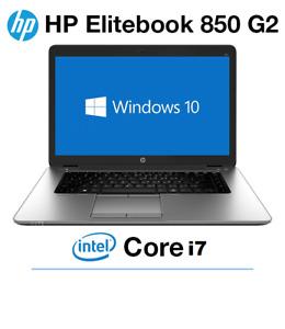 HP EliteBook 850 G2 | Core i7 2.6GHz | 8G 16G RAM | 500GB  1TB SSHD Win10 Pro