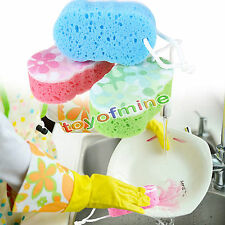 Spugna da bagno Massaggi Doccia Esfoliante Corpo di pulizia Scrubber