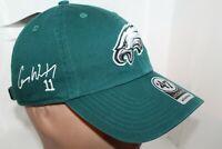 Philadelphia Eagles '47 Brand NFL '47 Clean Up Cap,Hat  Carson Wentz Autographed