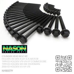 NASON HEAD BOLT KIT V8 GEN III LS1 5.7L MOTOR [HOLDEN VT-VX-VY COMMODORE/CALAIS]