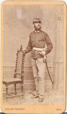 Pokorny CDV photo KuK Soldat - Wien 1871