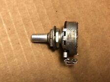"Vintage 1958 Centralab 250 ohm 1/4"" Shaft Potentiometer CRL Guitar Pot 400 ohm"