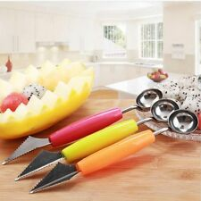 Ball Mini Melon Dual Use Ice Cream Scoop Spoon Fruit Carving