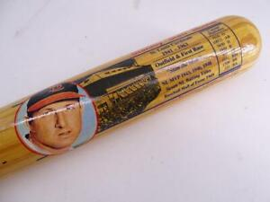 Vintage Cooperstown Baseball Bat Stan Musial St Louis Cardinals Autographed Sgnd