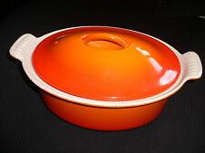 Grand ovale orange LE CREUSET Couvercle Cocotte - 22 cm