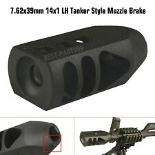 Tanker Style 7.62x39mm 14x1 Left Hand Thread Competition Muzzle Brake