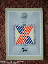 96 schede PHQ TIMBRO Commonwealth seguite Associazione 1986. ottime condizioni